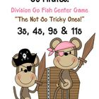 Go Pirates! Division Go Fish Game ~ The Not So Tricky Ones