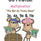Go Pirates! Multiplication Go Fish Game ~ The Not So Trick
