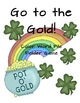 Go to the Gold! St. Patrick&#039;s Day Color Word File Folder Game