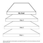 Goal Setting Graphic Organizer