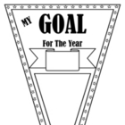 Goal Setting Pennant