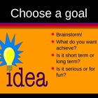 Goal Setting PowerPoint for College by Kim Townsel