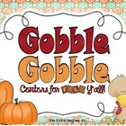 Gobble, Gobble: Centers for Fall Y'all!