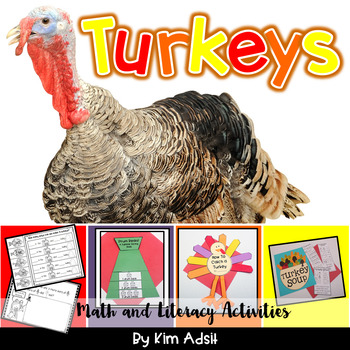 Gobble Gobble - Terrific Turkey Activities for Math and Literacy