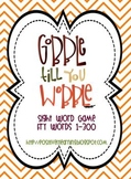 Gobble Till You Wobble! Sight Word Game