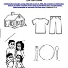 God Does Provide Lesson/Coloring Page VBS/Sun School