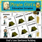 God's Law Sentence Building Activity