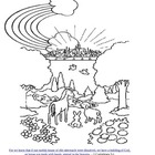 God&#039;s Promises are Forever Lesson/Coloring Page VBS/Sun School