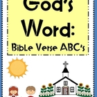 God&#039;s Word:  Bible Verse ABC&#039;s (Alphabet Posters and Color