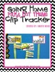 Going Home Clip Tracker: Bright Polka Dots