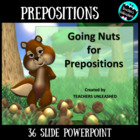 Going Nuts for Prepositions - Guided Practice and Test Prep