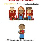 Going to the Movies (Emergent Reader Reproducible Book)