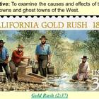 Gold Rush PowerPoint Presentation