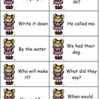 Goldilocks Theme Fry Phrases and Posters
