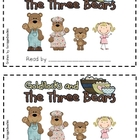 Goldilocks and the 3 Bears Emergent Reader 