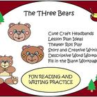 Goldilocks and the Three Bears Craft and Writing Activities