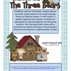 Goldilocks and the Three Bears Literacy and Math Centers