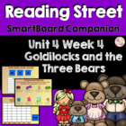 Goldilocks and the Three Bears SmartBoard Companion Readin