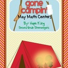 Gone Campin' Math Centers