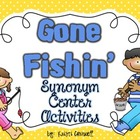 Gone Fishin&#039; Synonym Activities {FREEBIE}