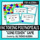 Factoring Polynomials Gone Fishin' Game