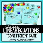 Gone Fishin' with Linear Equations Game!
