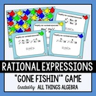 Rational Expressions Gone Fishin' Game