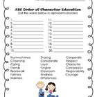 Good Character Traits Activities