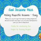 Good Decisions Maze - Respect