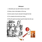 Good French Club Activity - Bilboquet