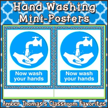 Good Hygiene Hand Washing Reminder Poster