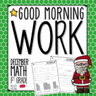 Good Morning Work - Math - December