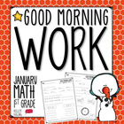 Good Morning Work - Math - January