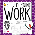 Good Morning Work - Reading - January (1st Grade)