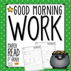 Good Morning Work - Reading - March