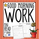 Good Morning Work - Reading - May