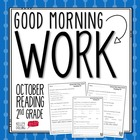 Good Morning Work - Reading - October (2nd Grade)