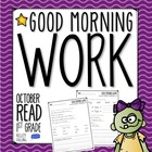 Good Morning Work - Reading - October