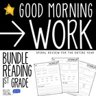Good Morning Work - Reading - School Year Bundle