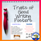 Good Writers Will Have Success - Traits of Good Writing Posters
