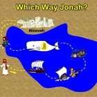 Good and Bad Choices Poster - Which Way Jonah?