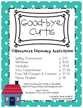 Good-bye, Curtis (Harcourt)