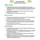 Goodnight Moon.  A Complete Lesson Plan