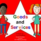Goods &amp; Services Social Studies SmartBoard Lesson for Prim