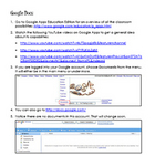 Google Docs | Technology Integration
