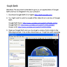 Google Earth | Technology Integration