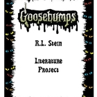 Goosebumps books Literature Unit by R.L. Stine