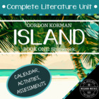 Gordon Korman&#039;s &quot;Island - Book One: Shipwreck&quot; - Literature Unit