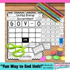 Government BINGO Game ~ The New Nation