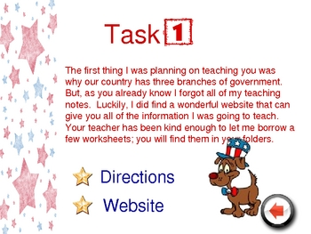 Government Powerpoint Webquest